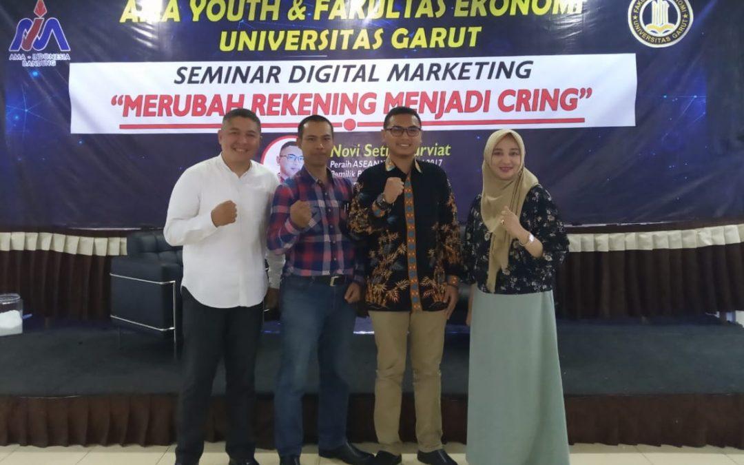 Kembangkan Bisnis Digital, Fekon Uniga Gelar Seminar Digital Marketing